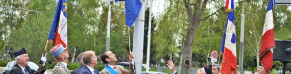 Inauguration de la rue du bataillon de marche 24 le 16 avril à Strasbourg (Photo ASO / Rue89 Strasbourg / cc)