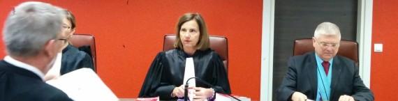 La présidente du tribunal Sophie Thomann (Photo PF / Rue89 Strasbourg / cc)