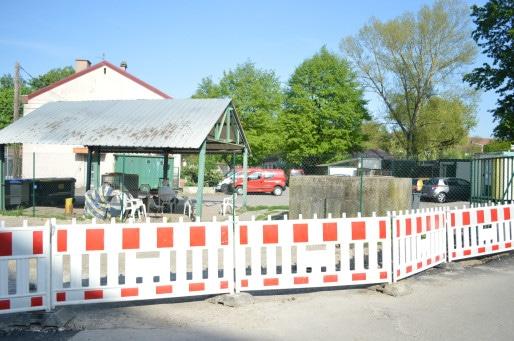 Les locaux de la SPA au 45 avenue du Rhin sont entourés par les travaux de la nouvelle ligne de métro et par des constructions immobilières.