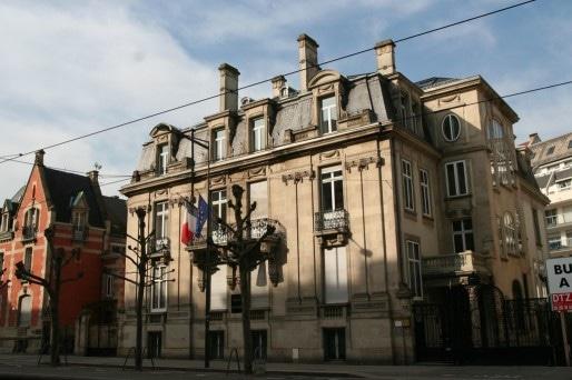 Le bâtiment du tribunal administratif de Strasbourg (Photo Fabien Romary / Archi-Strasbourg / cc)