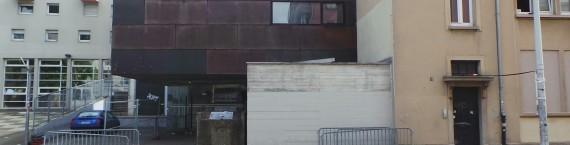 Le salle de concert de la Laiterie gérée par l'association Artefact PRL, rue du Hohwald