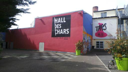 Le lieu de création culturelle était géré par l'association la friche laiterie (photo JFG / Rue89 Strasbourg)