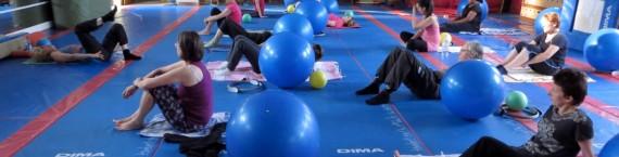 Un séance de gymnastique au gymnase de la Robertsau