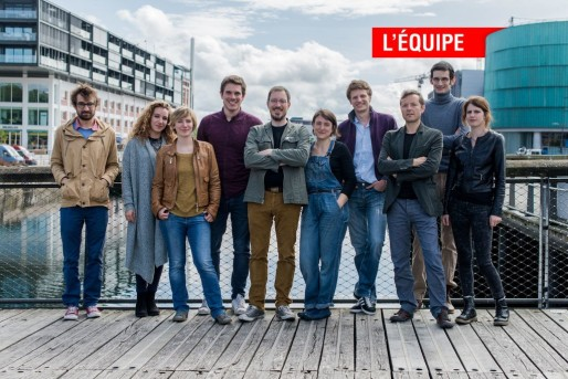 La fine équipe qui réalise votre média local favori tous les jours (Photo Nicolas Gall)