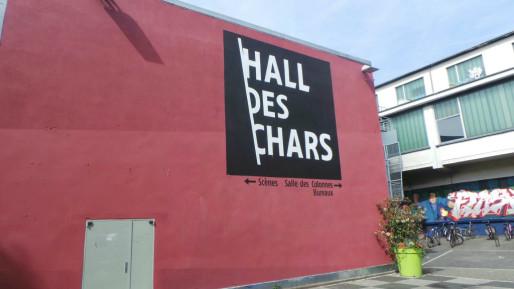 A côté de la double salle, des bureaux et la salle des colonnes, aussi administrée par l'association de la Friche Laiterie (Photo JFG / Rue89 Strasbourg)