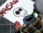 Lors d'une manifestation contre Monsanto à San Francisco en mai 2013 (Photo Donna Cleveland / FlickR / cc)