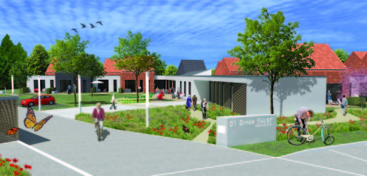 La future résidence pour séniors d'Eschau comptera 22 appartements individuels et trois 2-pièces pour couple (doc. remis)