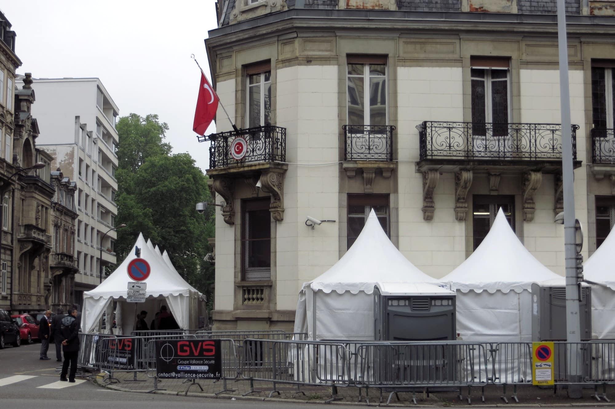 Comment les élections turques sinvitent à strasbourg