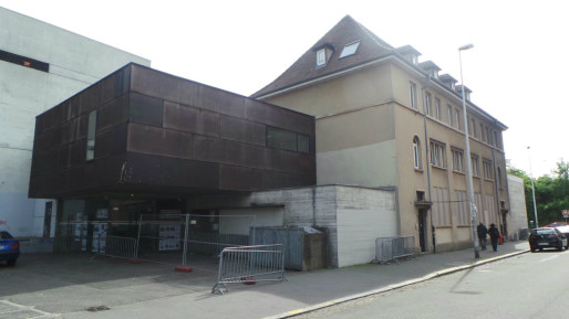 Déménagement prévu en 2019 pour la salle de concert et restructuration complète du quartier en vue (Photo JFG/Rue89 Strasbourg)