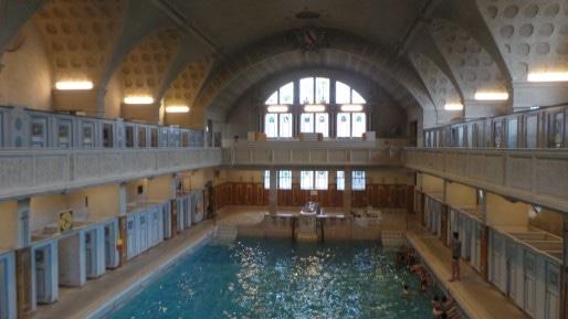 Le grand bain, vu de haut.