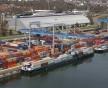 Une navette pourrait bientôt transporter les conteneurs sur le canal entre Strasbourg et Saverne (Photo : Influences Rhénanes)