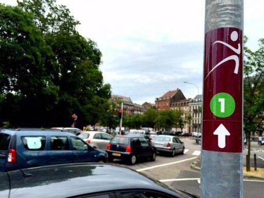 Vitaboucle Glacis: savoir aussi courir avec  la circulation automobile (Arnaud MICHEL)