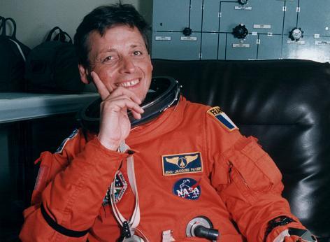 Jean-Jacques Favier, un des profs de l'ISU, a passé 17 jours en orbite à bord de la station spatiale internationale. (Photo : NASA)