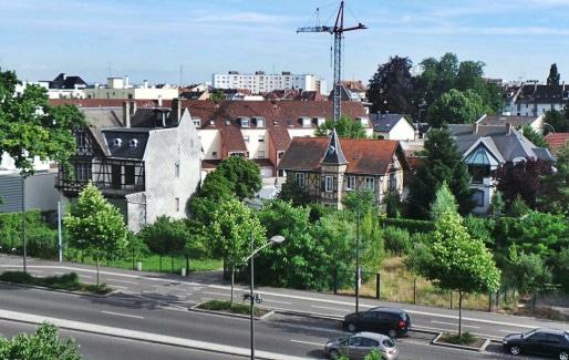 Entre les friches et les projets immobiliers, des résidents s'inquiètent (Photo PF / Rue89 Strasbourg)