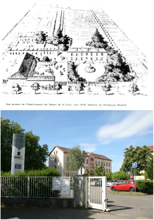 Sur d'anciennes terres des Jésuites, les sœurs de Glaubitz installe leur fondation pour jeunes délinquantes en 1852 (DR - Photo MM)