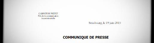 La préfecture du Bas-Rhin ne répond pas, mais communique, nuance.