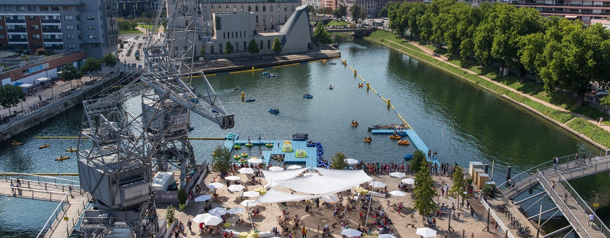 Cet été, pas de feu d'artifice mais des Illuminations, les Docks et du cinéma en plein air…