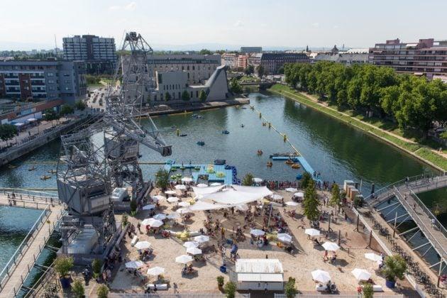 Les Docks d'été reviennent avec des horaires plus étendus sur la presqu'île Malraux. (Photo : Ville de Strasbourg)
