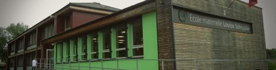 L'école Scheppler, entre l'autoroute et les boulevards du quartier gare (doc remis)