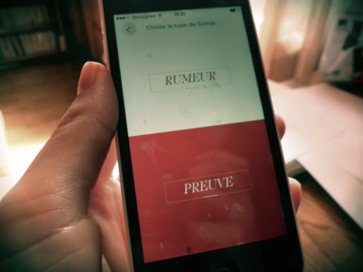 L'application Gossip permet d'envoyer des rumeurs sans être identifié (Photo ML / Rue89 Strasbourg / cc)