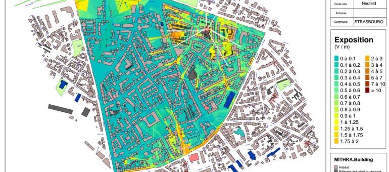 Les ondes électromagnétiques de Strasbourg cartographiées