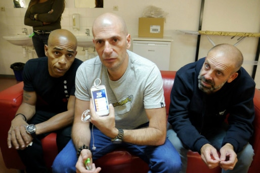 IAM (ici), Lino, Youssoupha et d'autres artistes issus de la scène rap, se sont montrés intéressés pour participer au projet (Photo : Max Disbeaux)