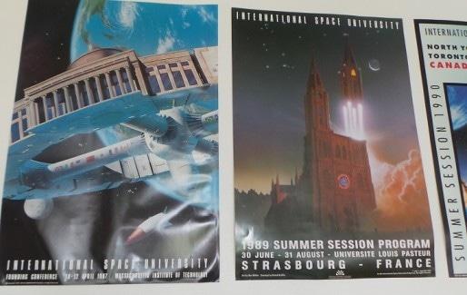 Depuis 1987, l'Université spatiale existe à travers des sessions d'été (Photo : Rue89Strasbourg).