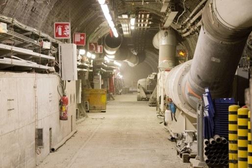 Les souterrains du laboratoire de Bure. (Photo Aurélien Glabas/Flickr/cc)
