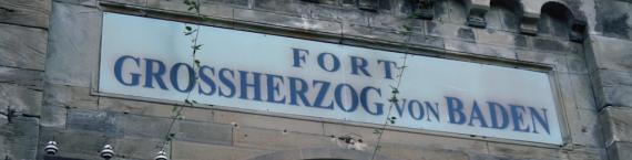 L'entrée du Fort Frère (Photo : Gaspard Glanz / Rue89Strasbourg)