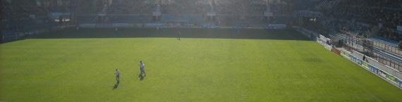 Au stade de la Meinau, le Racing recevra des équipes de National pour la troisième saison consécutive. La dernière ? (Photo : Paolo)