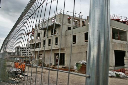 Construite par Altexia, une future résidence étudiante (Photo MM / Rue89 Strasbourg)