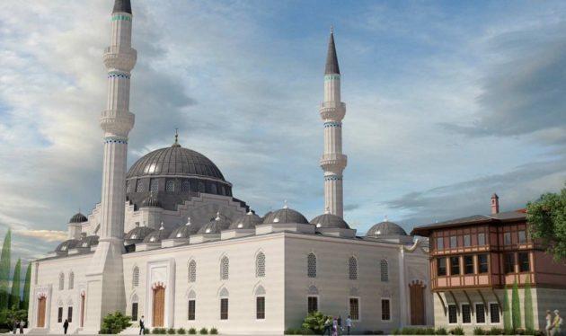 La mosquée a été confiée à l'architecte turc Muharrem Hilmi Senlap, déjà auteur des plans de la mosquée centrale de Tokyo. (doc remis)