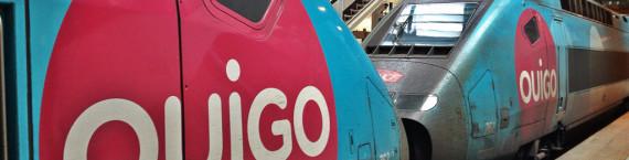 Les trains Ouigo, une espèce inconnue en gare de Strasbourg (photo Flickr / jean-louis Zimmermann/ cc )