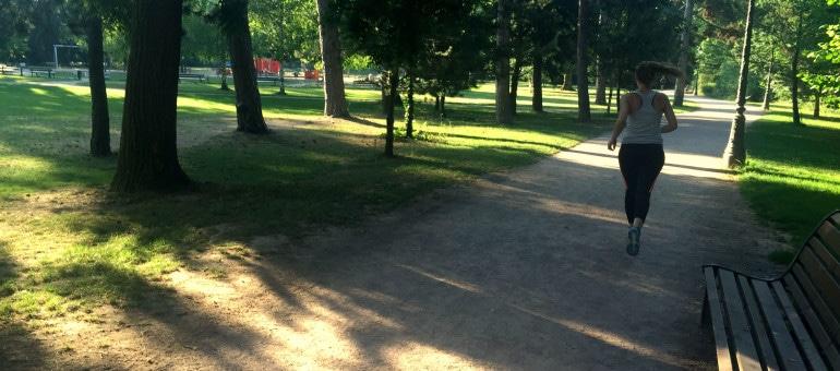 J'ai couru à Strasbourg, en été, en évitant la canicule