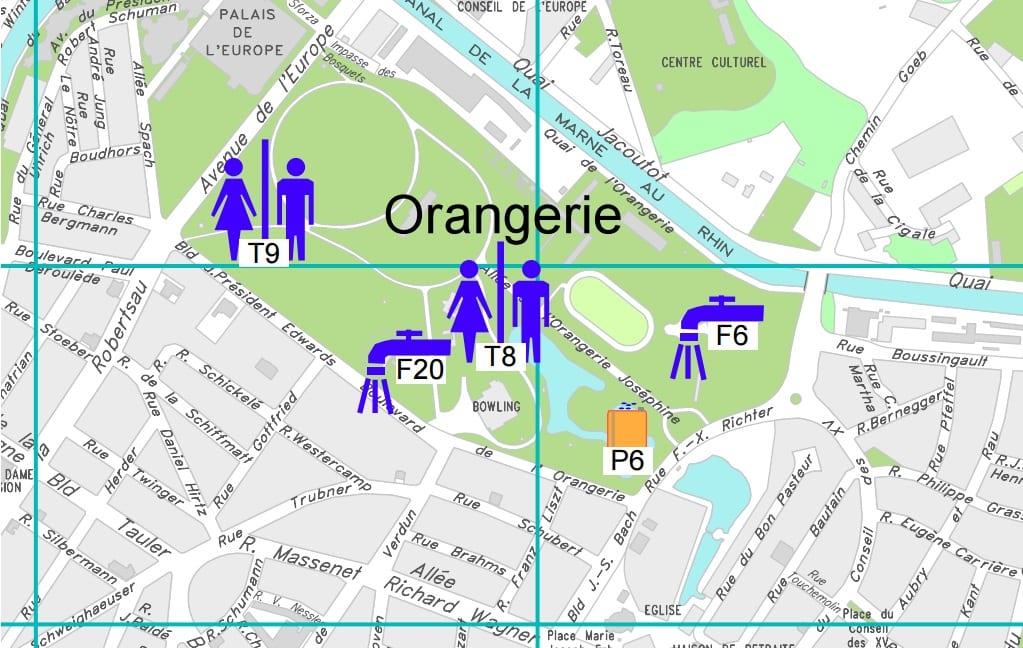 Strabourg Plan Centre Ville Ai