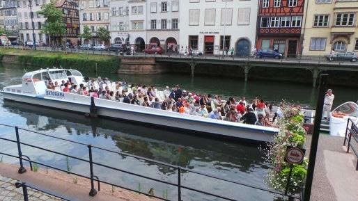 Batorama, 800 000 passagers par an, combien de coups de soleil ? (Photo PF / Rue89 Strasbourg / cc)