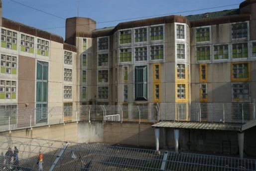 D'une capacité théorique de 444 places, la maison d'arrêt compte aujourd'hui plus de 700 détenus. (Photo : CGLPL)