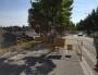 Les travaux sur les voies cyclables semblent toujours moins prioritaires que ceux sur les routes (Photo EJ)