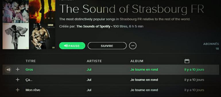 Les rappeurs Jul, Lacrim, Gradur et Nekfeu plébiscités par les Strasbourgeois