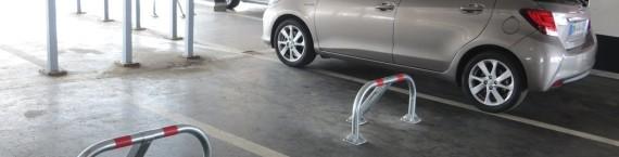 Au parking Sainte-Aurélie, boulevard de Metz, trois places sont réservées pour la société Tripndrive.