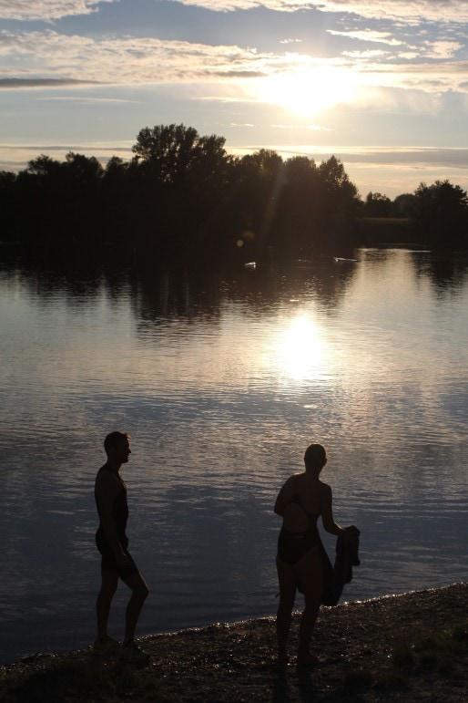 Les deux clubs de plongée et celui de triathlon espèrent pouvoir continuer leurs activités dans le Wolfert. (A.F)