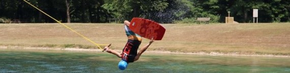 Faire du wakeboard en Alsace, c'est possible au Koba Wake Park