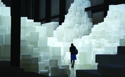 Embankment - Rachel Whiteread, l'une des oeuvres qui sera exposée dans le cadre d'ArtCop21 (doc. remis)