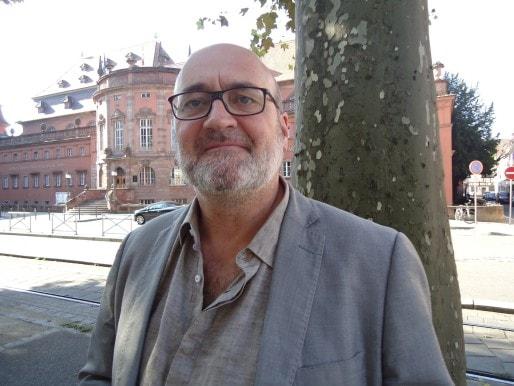 Frédéric Simon, nouveau directeur du Maillon (Photo MB / Rue89 Strasbourg)