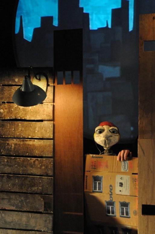 """""""Lampe"""" de la compagnie Frieda Theater Froe Froe (Photo Marc Maillard)"""