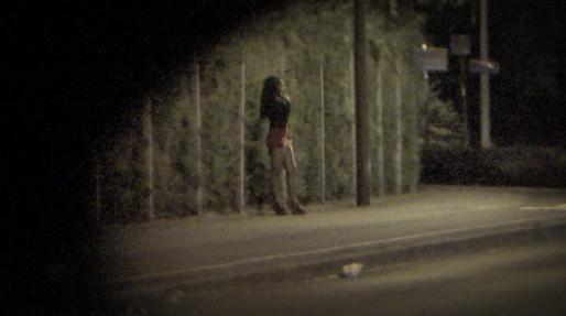 Prostituée dans les rues de Strasbourg (Photo Rue89Strasbourg/Gaspard Glanz)