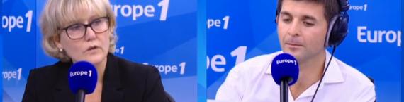 "Nadine Morano a confirmé ses propos sur la ""race blanche"" de la France mercredi matin (capture d'écran)"