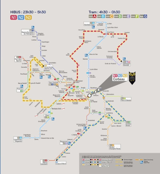 Nouveau plan et horaires du réseau Hibus