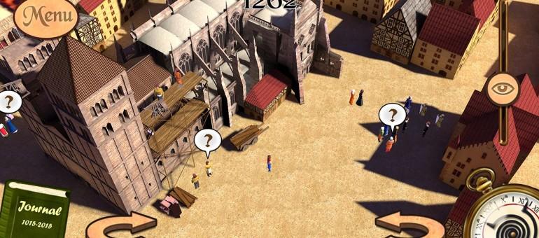 Un jeu pour revivre l'histoire de la construction de la cathédrale de Strasbourg