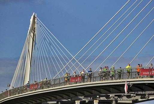 Verra-t-on encore des coureurs franchir le Rhin ? (Photo ASCE)